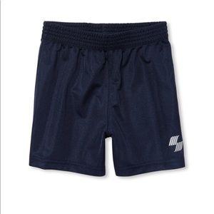 NWT PLACE Boys Dark Blue Gym Basketball Shorts 4T